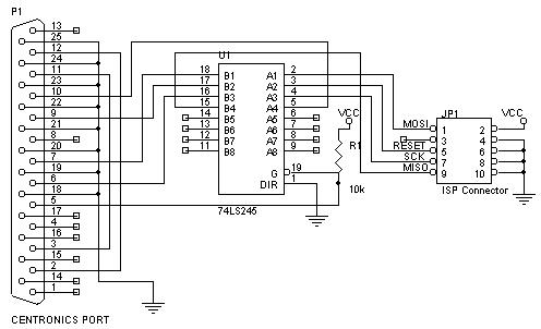 Parallel AVR programming board - Instructablescom